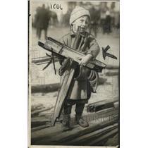 1918 Press Photo Children Tyke - neo14211