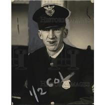 1923 Press Photo Police Sergeant Ryan of 13th Superior - neo14348