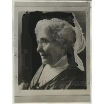 1931 Press Photo Mrs. J.M. Patterson, Oldest Female Reporter - neo14572