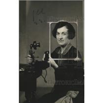 1919 Press Photo Irene Farrell Secretary of Woman's Christmas Exposition
