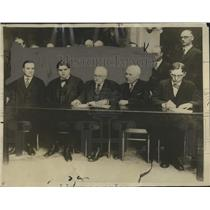 1926 Press Photo Joint Conference of Mine operators & officials reach settlement