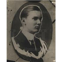 1916 Press Photo Herbert Updike of Oak Park, IL Accused of Attempting Murder