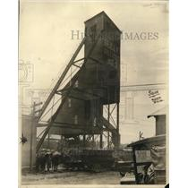 1922 Press Photo Spangler, Pennsylvania Shaft House of Reilly Colliery
