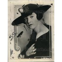 1921 Press Photo Florence H. Leeds, Named in Mrs. James A. Stillman Divorce