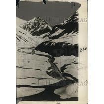 1925 Press Photo Himalayan Mountains, Crossing the Zogi Pan - neo16210