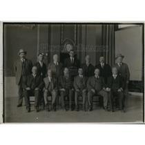 1914 Press Photo Veviremen held under guard until accepted or dismissed