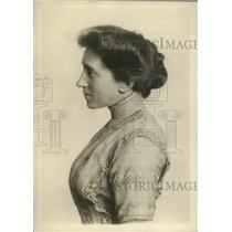 1912 Press Photo Ms. Julia C. Lathrop of Chicago, Asst. of Jane Addams