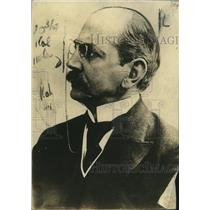 1920 Press Photo Dr. Gessler, German Minister of Defense - neo16935
