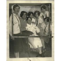 1899 Press Photo Betty Marshall, Sylvia Atlas, Virginia Rooke, Roselind Bulia