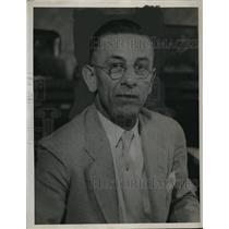 1927 Press Photo Henry W Koch secretary of Painters Union - neo17109