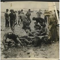 1924 Press Photo Football game on the Annual Suuthend Regatta in England