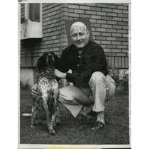 1965 Press Photo John P. Reading of KKK, Suing Wisconsin Secretary of State