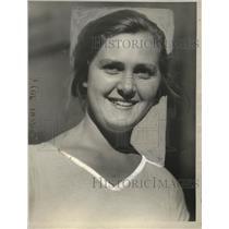 1923 Press Photo Karen Westerdal of Denmark - neo17653