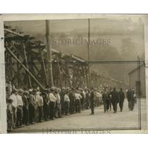 1925 Press Photo Deputy Sheriff Attends Non-Union Miners - neo17783