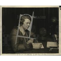 1925 Press Photo Mrs. Grace Gray appointment Director Homemaker Hour