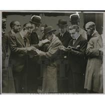 1933 Press Photo London Stock Exchange During United States Financial Crisis