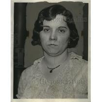 1932 Press Photo of Mrs Mary Kott - neo19343