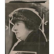 1921 Press Photo Mrs WH McGannon, wife of Judge McGannon - neo19872