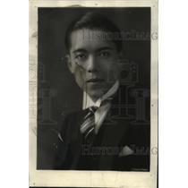 1929 Press Photo Toshikazu Kase, New Attache of the Japanese in Washington