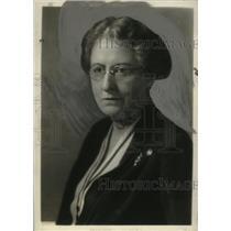 1927 Press Photo Mrs. John Dickinson Sherman, Pres of Gen Fed of Women's Clubs
