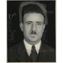 1929 Press Photo George Papastamtakis Greek Journalist - neo20329