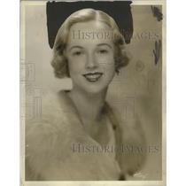"""1930 Press Photo June Blossom, Prominent Debutante, to Debut in """"Young Sinners"""""""