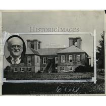 1930 Press Photo Ancestral Home of General Robert E. Lee - neo21009