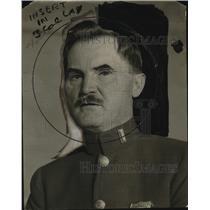 1922 Press Photo Lt. Frank Mach of Police School - neo21189