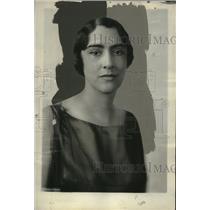 1929 Press Photo Mrs. John W. Garrett of Baltimore, Wife of Italian Ambassador