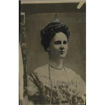 1921 Press Photo Queen Wilhelmina of Holland/Netherlands - neo22017