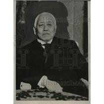 1927 Press Photo Viscount Admiral Saito of Japan Delegate to Naval Conference