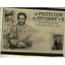 1918 Press Photo President Ponceau of France - neo22278