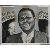 1961 Press Photo Zulu chief Albert Luthuli wins Nobel Peace Prize from S Africa