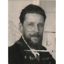 1921 Press Photo HE Carlo Schanner ex Minister of Italian Treaty - neo22716