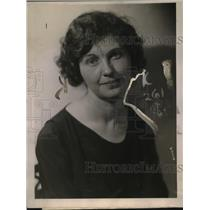 1922 Press Photo Ruth Vincent Chief officer for Girls in Denver now in NY