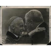 1921 Press Photo The late Cardinal Gibbons & late Theodore Roosevelt - neo23870