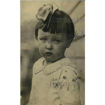 1920 Press Photo Baby Margaret Offered for Sale by Mother Catherine Multy
