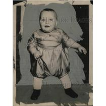 1922 Press Photo Baby Margeruite Struck of Milwaukee, Wisconsin - neo24378