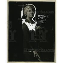 1925 Press Photo Mrs. Carly T. Randall Lewis - neo24386
