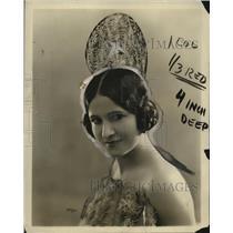 1921 Press Photo Pepita Granados - neo24797