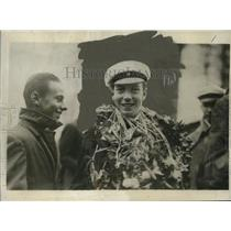 1926 Press Photo Prince Sigvard of Sweden Graduating from Lundsberg Scholl