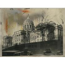 1926 Press Photo State Capitol Building at Harrisburg, Pennsylvania - neo25380