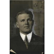 1922 Press Photo John Rosenholm World's most modest music lover - neo25455