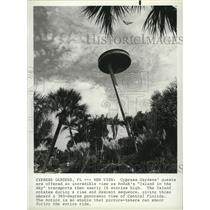 1983 Press Photo Island in the Sky ride in Cypress Gardens - spa64749