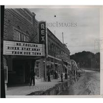 1950 Press Photo Bonners Ferry in  Idaho - spa65524