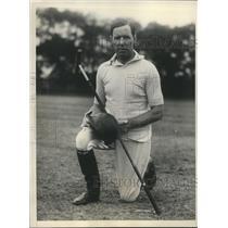1929 Press Photo Earl Hopping American Open Polo Tournament  - sbs07091