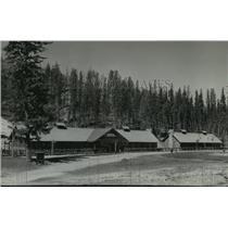 Press Photo Civilian Conservation Corps camp Kettle Falls, Washington