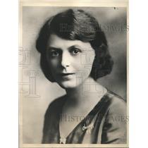 1931 Press Photo Katherine Friend strives for female representation in Bridge
