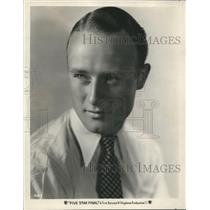 """1931 Press Photo Anthony Bushell in """"Five Star Final"""" - sbx03568"""