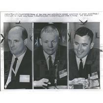 1962 Press Photo Thomas Stafford Neil Armstrong John